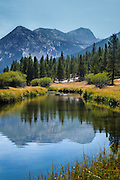 Tuolumne Meadows and River at Yosemite National Park