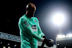 David Button of West Bromwich Albion - Mandatory by-line: Robbie Stephenson/JMP - 16/09/2020 - FOOTBALL - The Hawthorns - West Bromwich, England - West Bromwich Albion v Harrogate Town - Carabao Cup