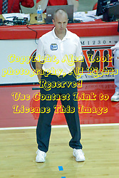17 October 2014:  line official during an NCAA Missouri Valley Conference (MVC) womens volleyball match between the Northern Iowa Panthers and the Illinois State Redbirds for 1st place in the conference at Redbird Arena in Normal IL
