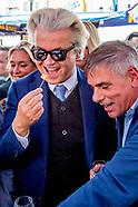 PVV-leider Geert Wilders voert campagne samen met Filip Dewinter