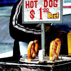 New York City Hot Dog vendor