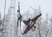 SHOT 12/18/10 11:44:03 AM - Noah Bowman of Calgary, Canada competes in the Ski Superpipe Finals during the Nike 6.0 Open stop of the Winter Dew Tour at Breckenridge Ski Resort in Breckenridge, Co. The event features ski and snowboard slopestyle and superpipe. (Photo by Marc Piscotty / © 2010)