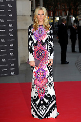 Poppy Delevigne attends the preview of The Glamour of Italian Fashion exhibition at Victoria & Albert Museum, London, United Kingdom. Tuesday, 1st April 2014. Picture by Chris Joseph / i-Images