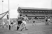 GAA All Ireland Minor Football Final Sligo v. Cork 22nd September 1968 Croke Park....No further caption available *** Local Caption *** It is important to note that under the COPYRIGHT AND RELATED RIGHTS ACT 2000 the copyright of these photographs are the property of the photographer and they cannot be copied, scanned, reproduced or electronically stored in any form whatsoever without the written permission of the photographer