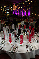 Table set up. IoD event.