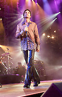 Train onstage performing at the United We Stand: What More Can I Give? Concert a music benefit in the Nation's Capital to raise money in support of the recovery efforts from the September 11th attacks on America. The proceeds will go to various relief funds.  October 21, 2001
