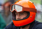 London,UK,27th July 2019. Motorcyclist at the Malle Mile event