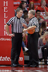 09 December 2017:  Gene Grimshaw and Gerry Pollard during a College mens basketball game between the Murray State Racers and Illinois State Redbirds in  Redbird Arena, Normal IL