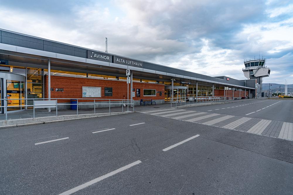 Alta lufthavn er en sivil flyplass som eies og drives av Avinor AS. Lufthavnen ligger ved bydelen Elvebakken, 3,5 km øst for Alta sentrum.