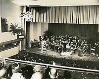 1940 Broadcast from CBS Radio on Sunset Blvd.