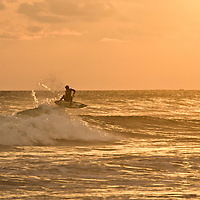 Sunset in Dominical, Costa Rica.  April 2009.  (Photo/William Byrne Drumm)