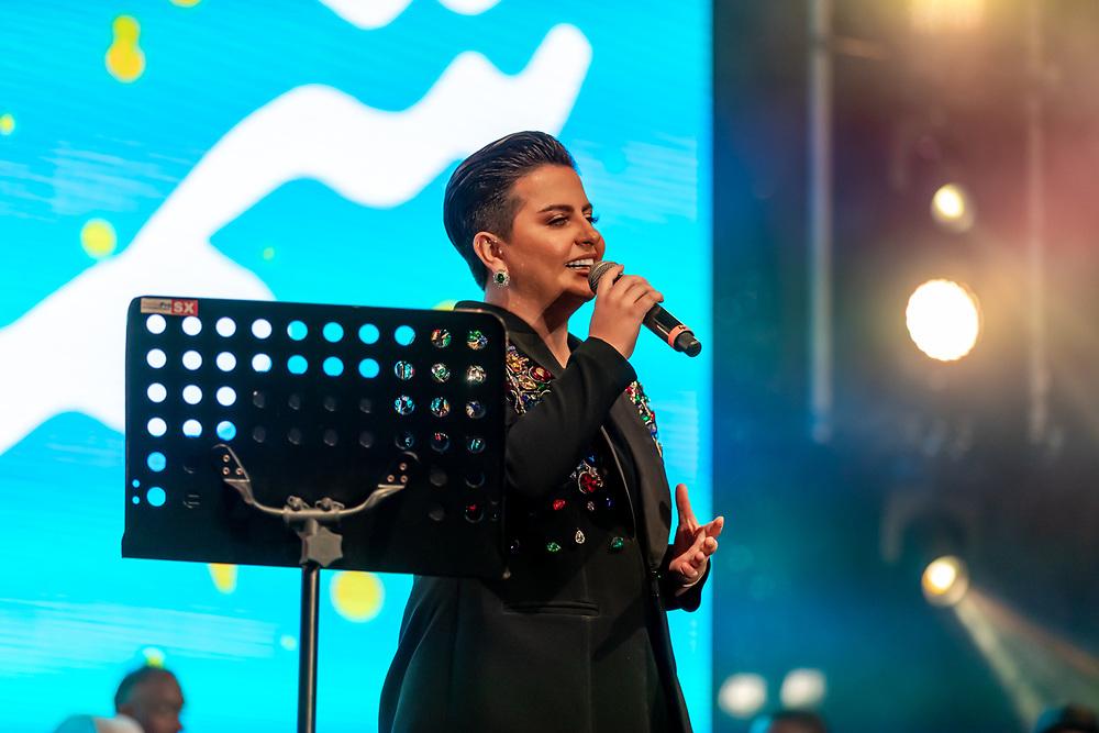 Shamma Hamdan live in Dubai, DSF 2020