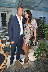 TAMARA ECCLESTONE and ROBERT MONTAGUE at the Total Concierge launch party held in the stylish Courtyard Garden at Sanderson, Berners Street, London on 26th May 2009.