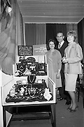24/04/1964<br /> 04/24/1964<br /> 24 April 1964 <br /> Stands at the Irish Export Fashion Fair at the Intercontinental Hotel, Dublin. Group at the Irish Souvenir and jewellery Co. Ltd., (180, Parnell Street, Dublin) stand at the fair.