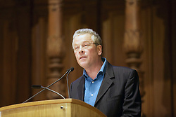 Robin Worsnop, chairman of the Edinburgh Tourism Action Group addressing 200 delegates at ETAG2019 at the McEwan Hall, Edinburgh. pic copyright Terry Murden @edinburghelitemedia