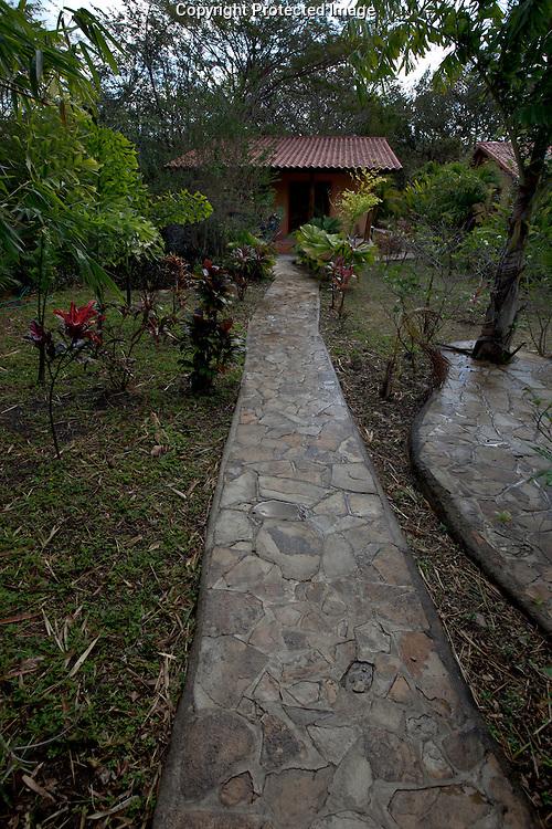 A cabin at La Mango Rosa hotel in San Juan Del Sur, Nicaragua on Saturday, February 19th 2011.