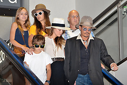 May 26, 2016 - File - AMBER HEARD has filed for divorce from JOHNNY DEPP after just 15 months of marriage amid claims his family hated her. The actress, 30, submitted court documents on Monday citing irreconcilable differences and seeking spousal support, triggering a battle over the star's 00 million fortune. Depp, 52, is father to 16-year-old Lily-Rose Depp and 14-year-old Jack Depp. His mom, Betty Sue Palmer, died just three days before Heard signed a petition for divorce Monday. Pictured: July 18, 2013 - Narita, Japan - Johnny Depp, Jack Depp, Lily-Rose Melody Depp and Amber Heard at Narita International Airport in Chiba prefecture, Japan on July 18, 2013. (Credit Image: © Future-Image/ZUMAPRESS.com)