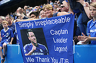 Chelsea fans showing their admiration for Chelsea defender John Terry (26) during the Premier League match between Chelsea and Sunderland at Stamford Bridge, London, England on 21 May 2017. Photo by John Potts.