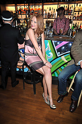 OLIVIA INGE at a party to celebrate the opening of Barts, Sloane Ave, London on 26th February 2009.