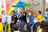Prinses Laurentien bijstart van Nationale Voorleesdagen