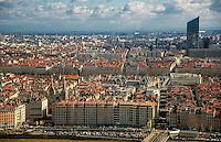 Lyon. Vue generale