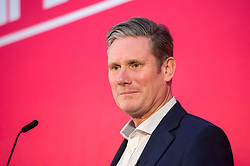 © Licensed to London News Pictures. 01/02/2020. Bristol, UK. KIER STARMER at the Labour Party Leadership Hustings, at Ashton Gate Stadium. Candidates: Emily Thornberry, Lisa Nandy, Kier Starmer, Rebecca Long-Bailey. Photo credit: Simon Chapman/LNP.