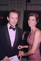 PRINCE & PRINCESS KYRIL OF PRESTLAV ( formerly known as Prince & Princess Kyril of Bulgaria) at a ball in London on 29th September 1997.MBS 55