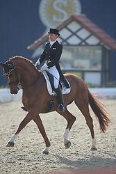 Lieben-Seutter Saskia, (AUT), Serupgards Breezer<br /> Intermediare II - Louisdor-Preis<br /> Horses & Dreams meets Denmark - Hagen 2016<br /> © Hippo Foto - Stefan Lafrentz