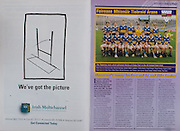 All Ireland Senior Hurling Championship - Final,.01.09.1996, 09.01.1996, 1st September 1996,.01091996AISHCF, .Wexford v Limerick,.Wexford 1-13, Limerick 0-14,..Irish Multichannel, .Tipperary Minor Team, Back row, Donncha Fahy, Micheal Kennedy, William Maher captain, Tomas Keane, Fergal Horgan, Fergal Heaney, Eugene O'Neill, .Front row, Sean Ryan, Aidan Doyle, Michael Kennedy, John Teehan, John Carroll, Declan Maher, William Hickey, Paul Kelly,