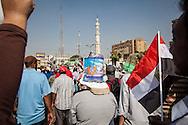 Demonstrations supporting Muslim Brotherhood in Cairo.