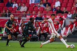 Edson Alvarez of Ajax in action during eredivisie round 02 between Ajax and RKC at Johan Cruyff Arena on September 20, 2020 in Amsterdam, Netherlands