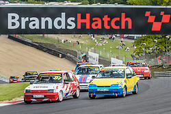 Action from Rounds 7 and 8 of the 750 Motor Club's Classic Stock Hatch Championship held at Brands Hatch in June 2017. Photo by Jonathan Elsey.