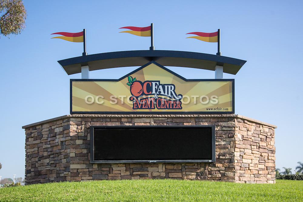 OC Fair & Event Center Monument