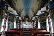 St Benedicts Painted Church, Honaunau,  Big Island of Hawaii