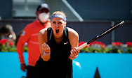 Petra Kvitova of the Czech Republic in action during the third round of the Mutua Madrid Open 2021, Masters 1000 tennis tournament on May 3, 2021 at La Caja Magica in Madrid, Spain - Photo Rob Prange / Spain ProSportsImages / DPPI / ProSportsImages / DPPI