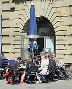 Berlin, GERMANY. General Views,  GV's.  Street Life, Cafes,  May Day 2011.  Saturday  01/05/2011 [Mandatory Credit; Peter Spurrier/Intersport-images]. Street Photos