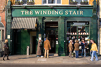 The Winding Stair independent bookstore in Dublin Ireland