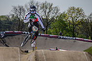 #179 (MARQUART Simon) SUI at the 2016 UCI BMX Supercross World Cup in Papendal, The Netherlands.