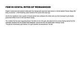 FGM in Kenya: Rites of Womanhood