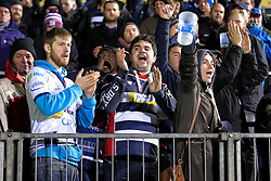 Bristol Rugby fans applaud their side after a 16-9 loss - Rogan Thomson/JMP - 18/11/2016 - RUGBY UNION - Recreation Ground - Bath, England - Bath Rugby v Bristol Rugby - Aviva Premiership.