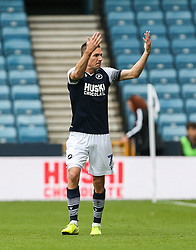 Jed Wallace of Millwall celebrates scoring to make it 1-0 - Mandatory by-line: Arron Gent/JMP - 05/10/2019 - FOOTBALL - The Den - London, England - Millwall v Leeds United - Sky Bet Championship