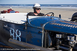Ready for another pass at the Race of Gentlemen. Wildwood, NJ, USA. October 11, 2015.  Photography ©2015 Michael Lichter.