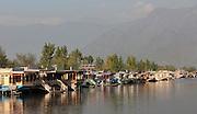 Kashmir Srinagar - Houseboats on Lake Dal
