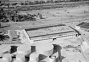 "Ackroyd 05346-6. ""Guilds Lake aerials. July 12, 1954"" ""American Sheet Metal Warehouse"" (4033 NW Yeon Ave., next to Texaco tank farm)"