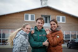 Filion Dominique, Van Lieren Laurens, Van Liere Dinja<br /> Selevia Hoeve - Werkendam 2015<br /> © Hippo Foto - Dirk Caremans<br /> 18/11/15