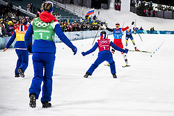 February 17, 2018 - Pyeongchang, Sydkorea - Marit Björgen..Women's Cross Country skiing 4x5km Relay, PyeongChang 2018 Olympic Games, 2018-02-17..(c) ORRE PONTUS  / Aftonbladet / IBL BildbyrÃ¥....* * * EXPRESSEN OUT * * *....AFTONBLADET / 85527 (Credit Image: © Orre Pontus/Aftonbladet/IBL via ZUMA Wire)