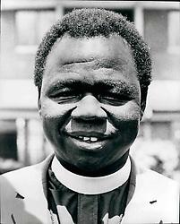 1968 - Archbishop Luwumm Killed by idi Amin. Credit : Camerapix (Credit Image: © Keystone Pictures USA/ZUMAPRESS.com)