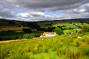 Farmhouse at Garrigill, near Alston, northern Pennines, Cumbria, England, UK