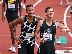 USATF Grand Prix track and field meet<br /> April 24, 2021 Eugene, Oregon, USA<br /> Nike, adidas