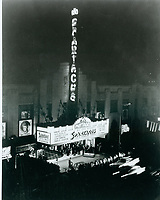 1960 Spartacus premiere at The Pantages Theater